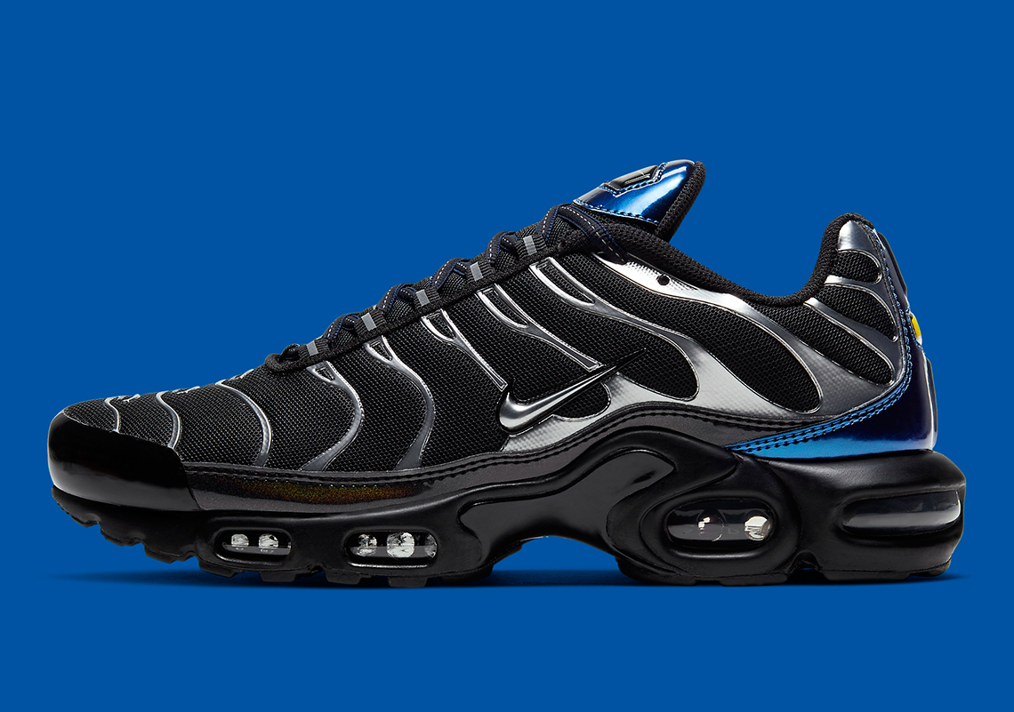 Nike Air Max Plus Black Blue Silver Cw2646 001