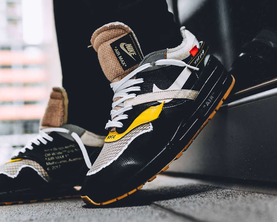 Air Max X Off White Black Off White X Nike Air Max 1 Bespoke 39;the Ten 39;