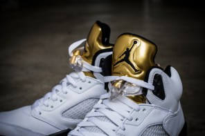Air Jordan V 'Gold Tongue' – Editorial Exclusivo