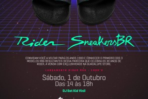 Rider E SneakersBR Convidam: Lançamento Do R86 1980's Na Guadalupe Store
