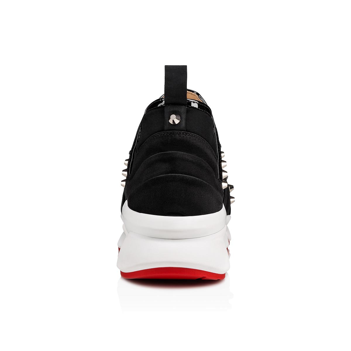 Zwarte Nikes Dames Christian Louboutin 1 2 3 Run Dames Sneakers Zwart Wit In Sneakerstad