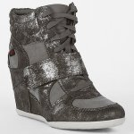 Wanna See | Big Buddha Emily High Tops in Metallic Silver (BTW WTF is Pewter!?)