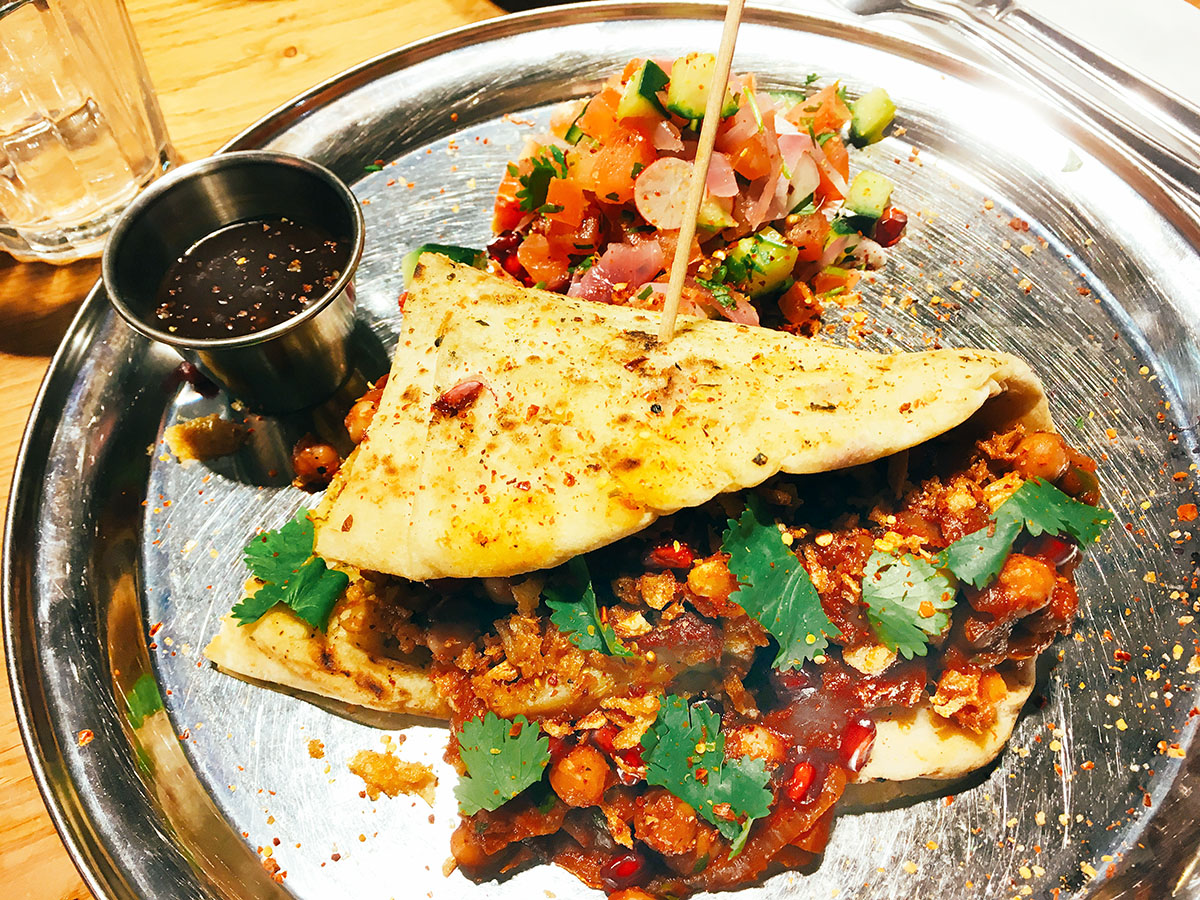 Restaurant Veg Giraffe Restaurant London Review Sneaky Veg