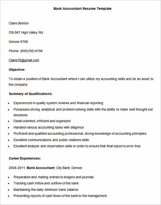how impressive accounting assistant resume is made