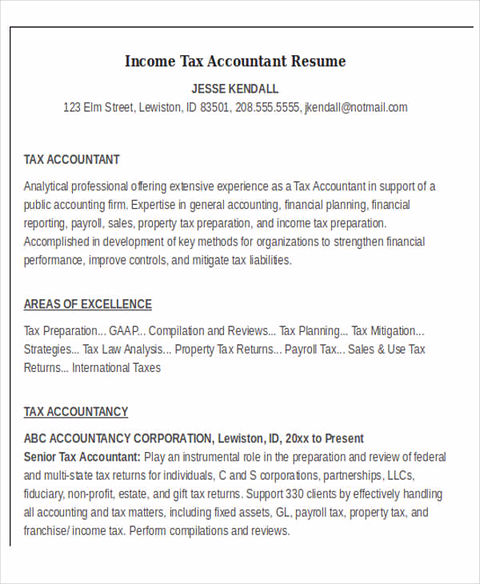 Boost Your Career with Accountant Resume Template - Fixed Asset Accountant Sample Resume