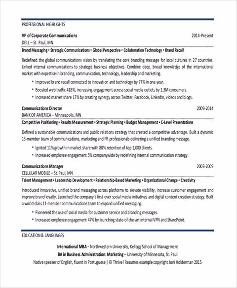 vp corporate communication resume marketing resumes hitecauto vp