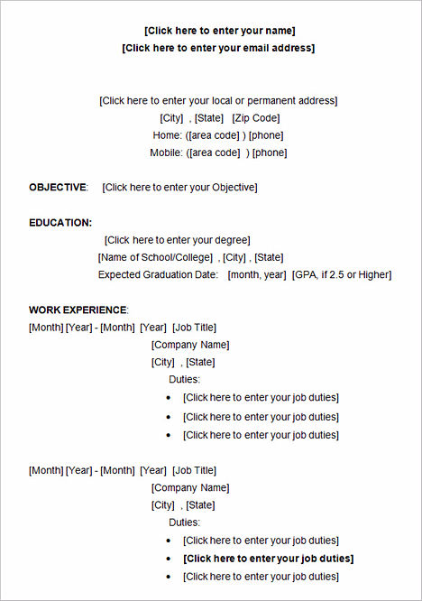 Writing A College Admissions Resume 44 best college application - college admissions resume