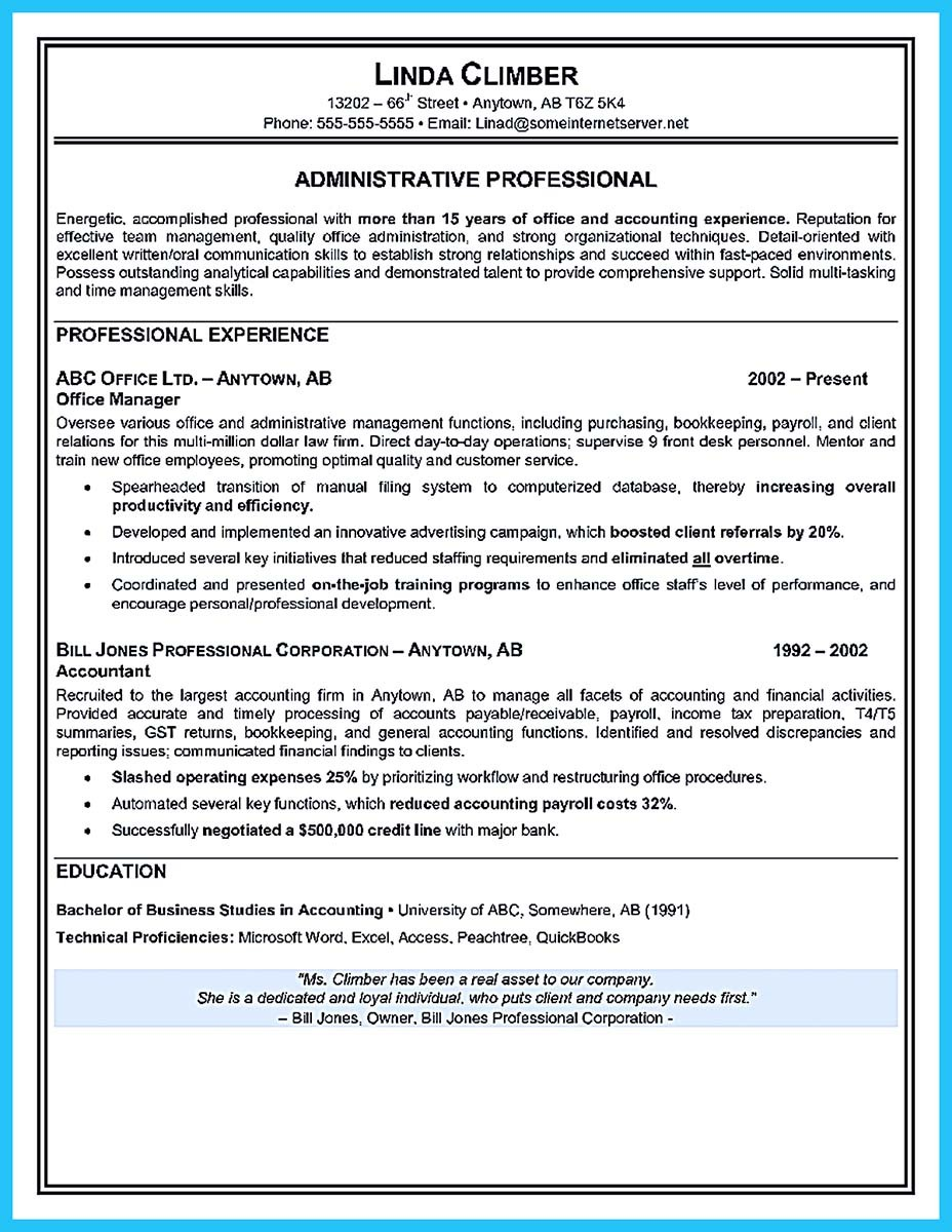 cover letter for executive resume