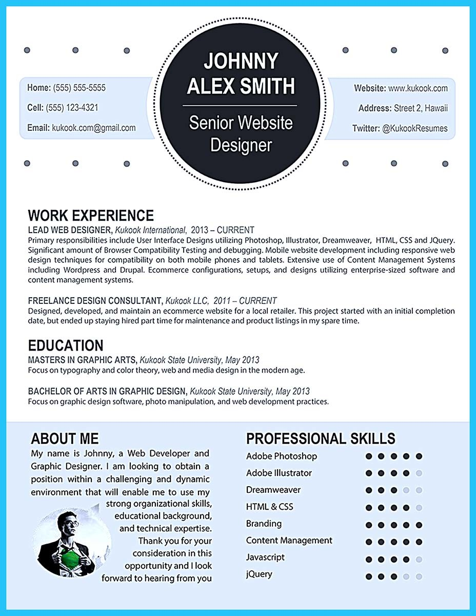 resume templates with skills