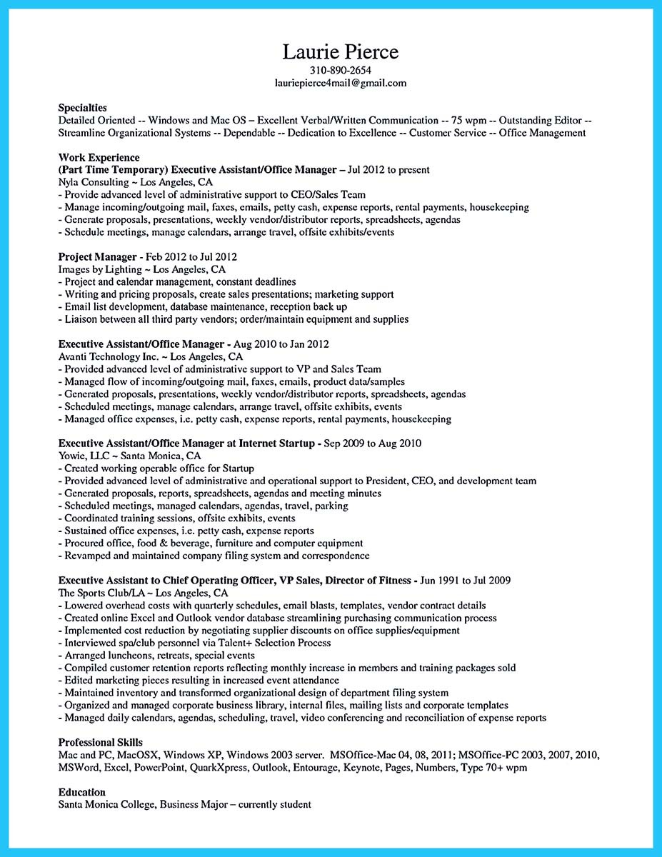 assistant store manager resume cover letter