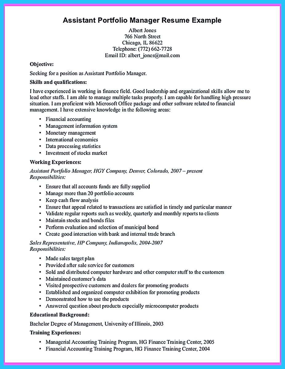 property manager resume objective