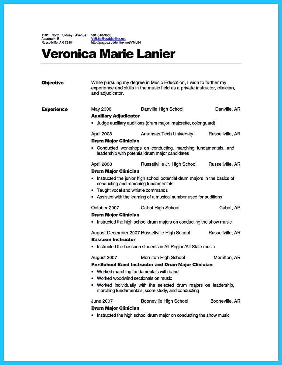 sample perfect resume resume for acting sample perfect resume example and cover letter - Example Of A Perfect Resume