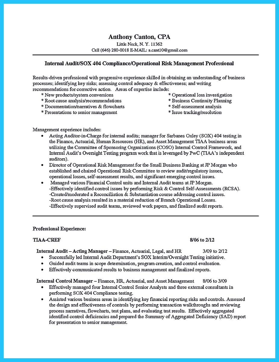 example of an internal job resume objective