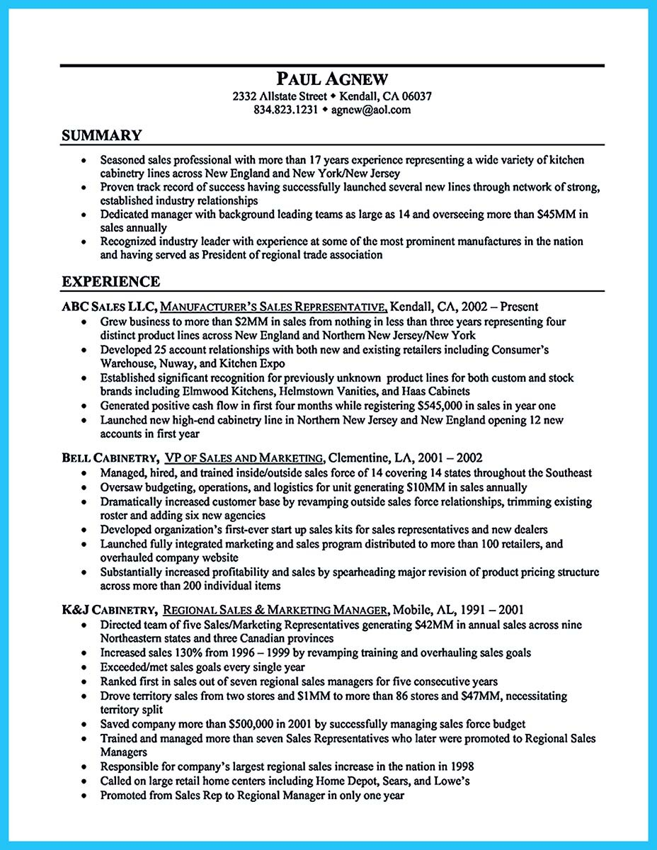 examples of summary on resumes