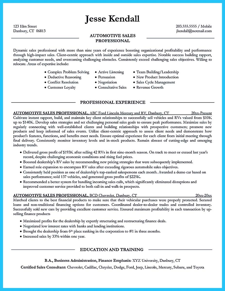education resume examples 2016