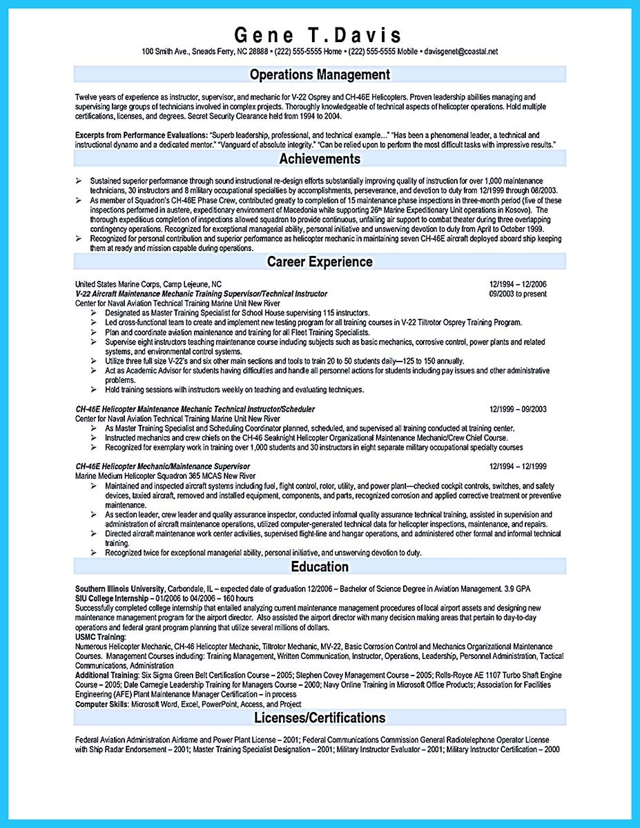 letter and resume template