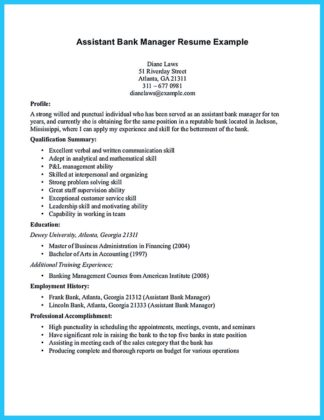 Job Profile Meaning Example | Sample Customer Service Resume