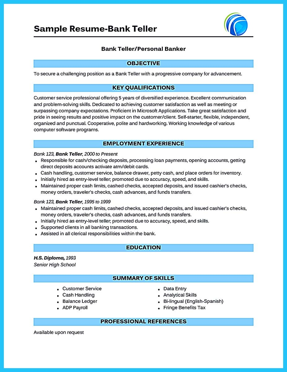 Banking Industry Resume