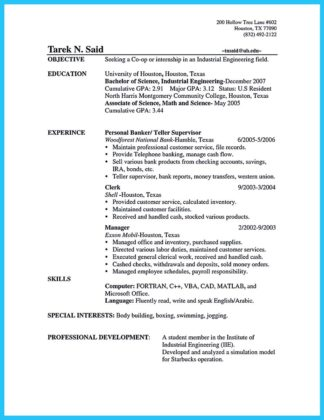 Resume Sample 5 - Operations Manager resume Career.
