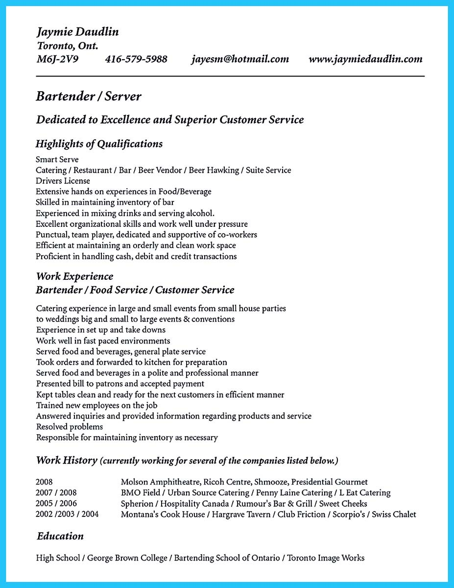 bartender cv sample uk resume format examples bartender cv sample uk builders cv samples builders cv templates livecareer cv sample uk and bartender