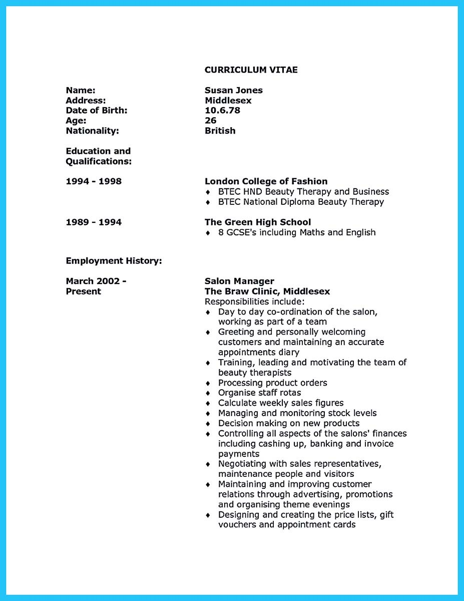 Walgreens Resume resume beauty advisor resume walgreens resume Cv Templates Beauty Therapist Sample Customer Service Resume Cv Templates Beauty Therapist Beauty Therapist Cv Sample