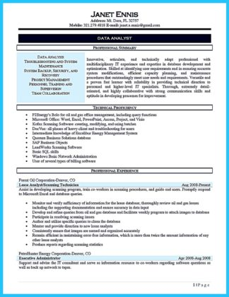 data processing manager cover letter - Data Processor Resume