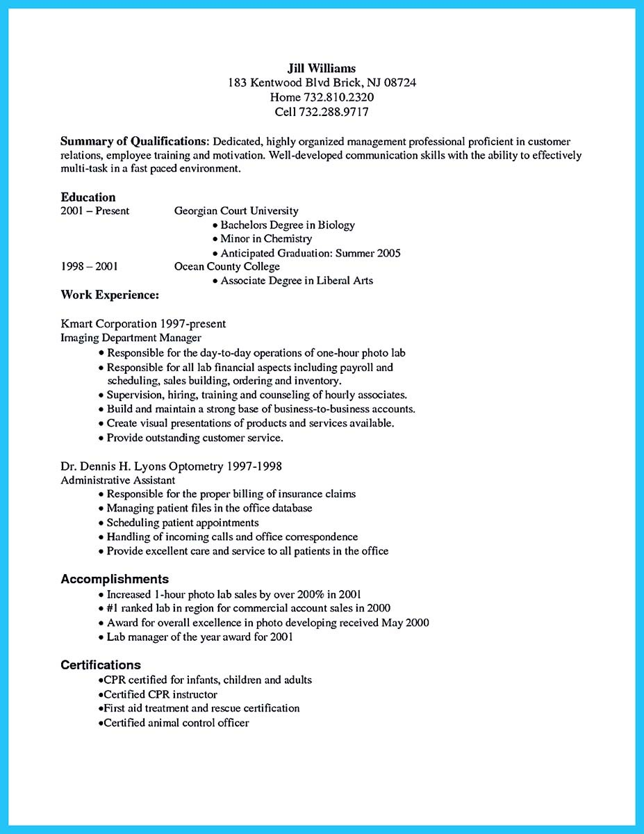 example of resume how a great resume can change your job example of resume