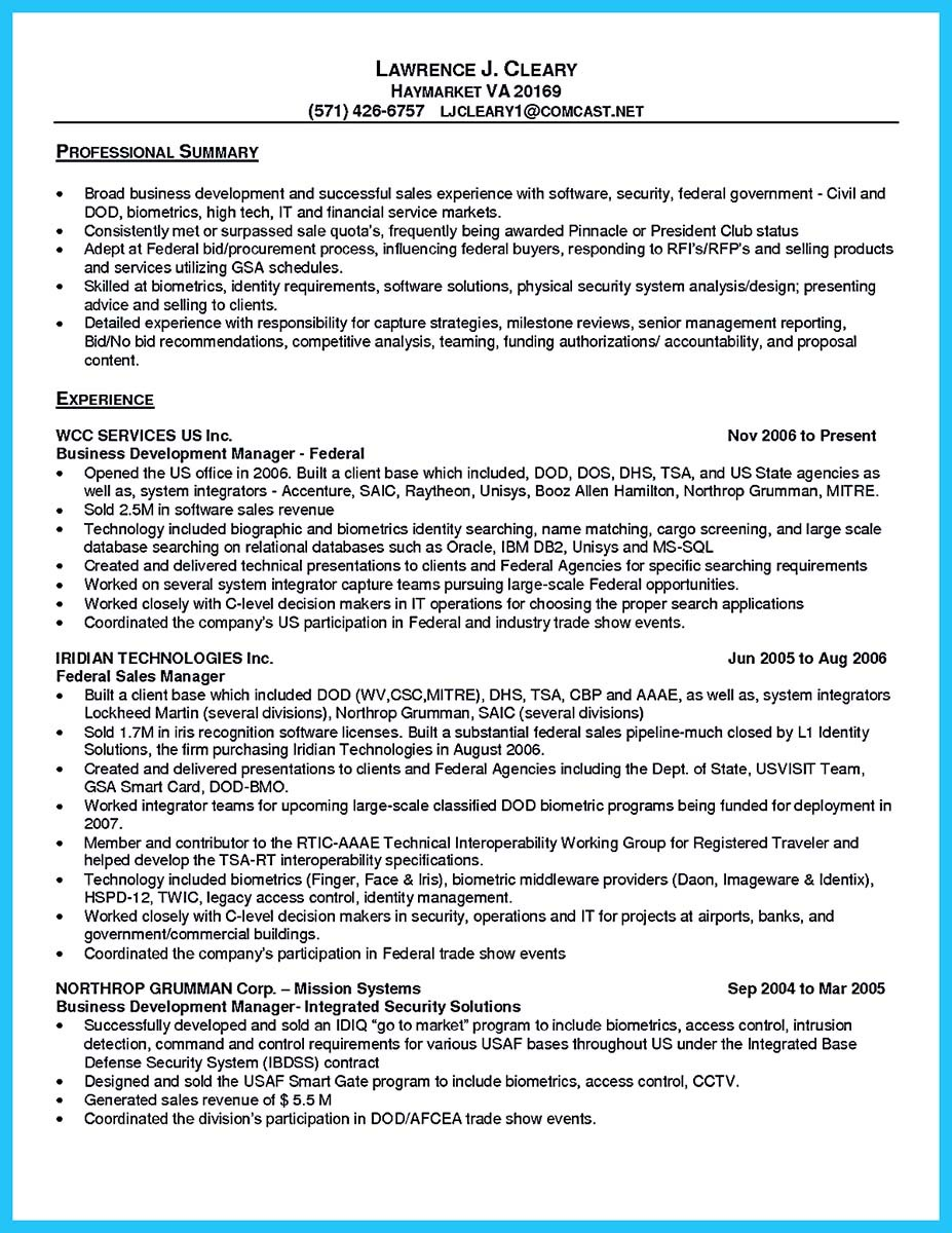 resume examples for purchasers
