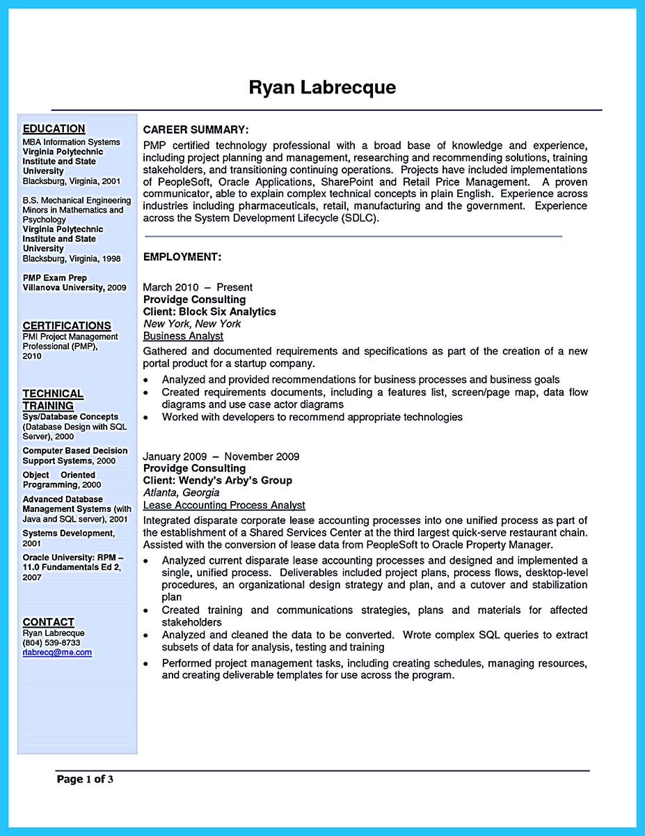 cover letter example for resume it jobs