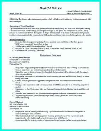Catering cook resume