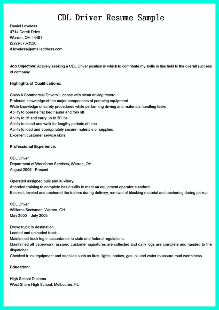 High functioning autism and homework example of resume with truck driver resume samples forklift driver resume getessayz forklift operator sample with driver cover letter sample madrichimfo Images
