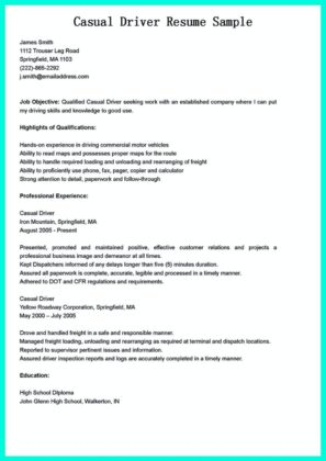 Cdl Route Driver Resume cdl resume resume cv cover letter cdl