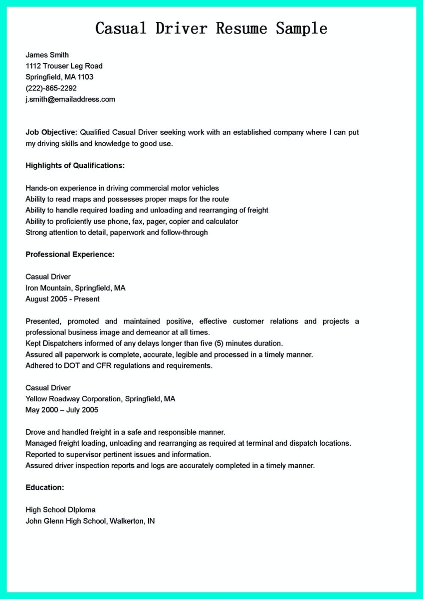 cdl driver resume examples unforgettable delivery driver resume