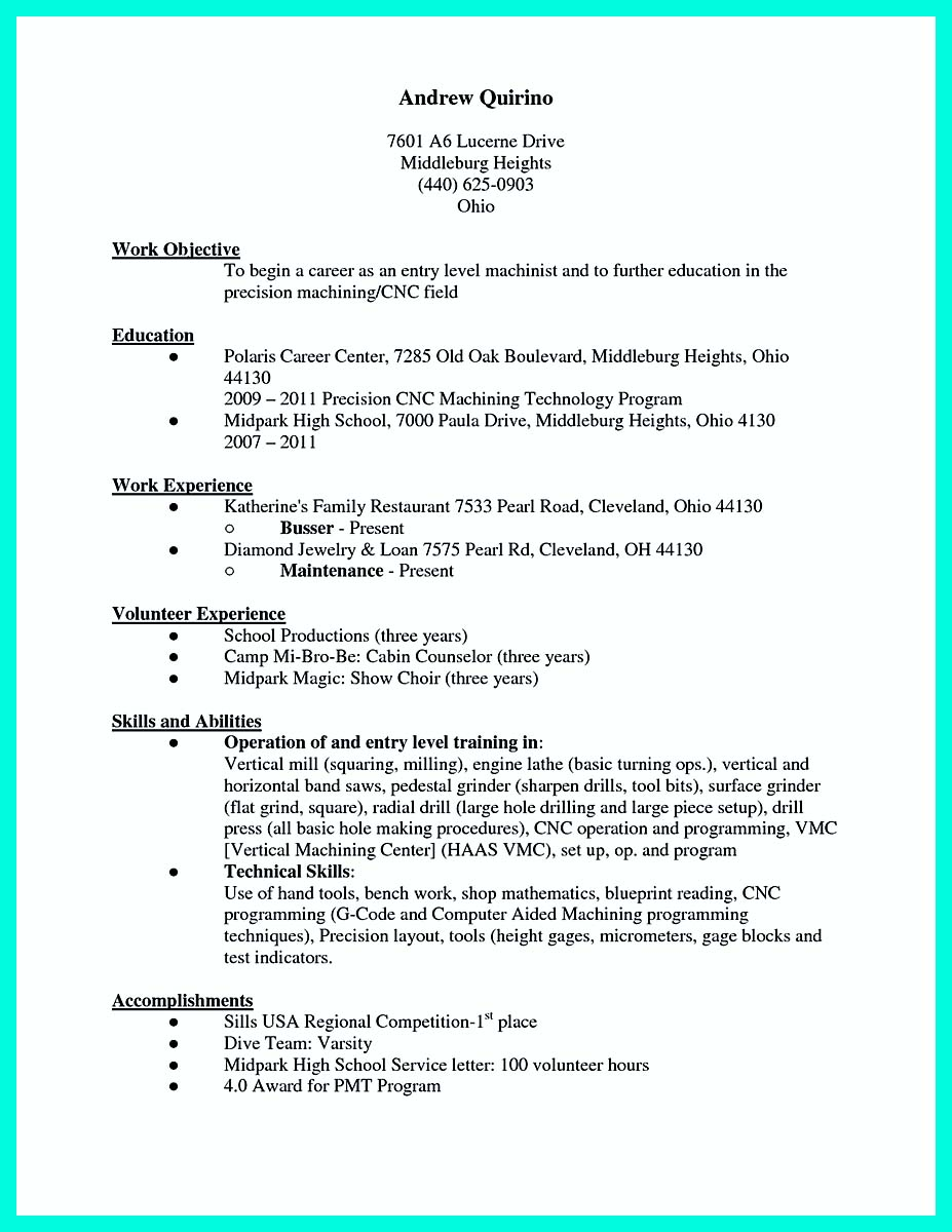 machinist resume example sample machinist resume template sample resume cnc maintenance engineer cnc service engineer resume - Machinist Resume Template