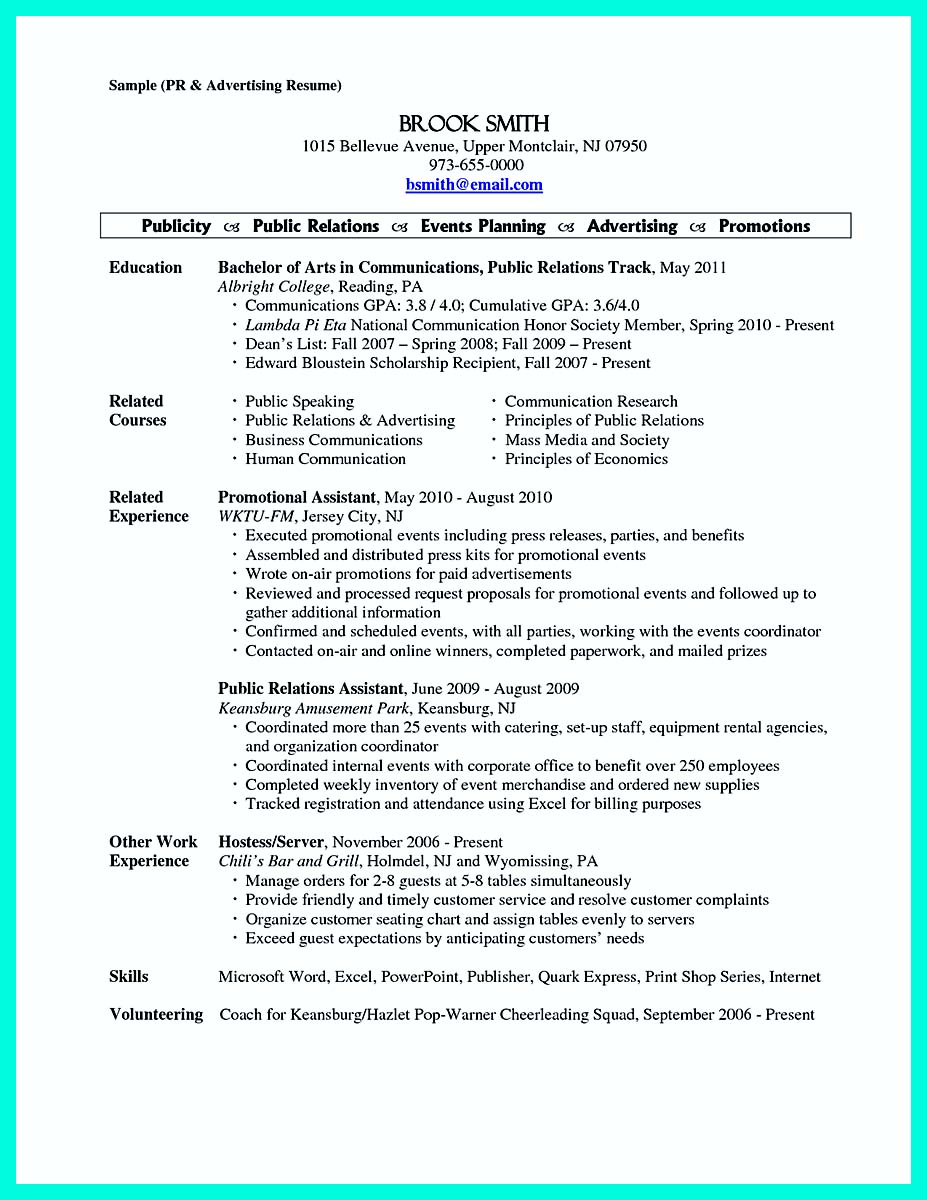 15 cocktail server resume sle and resume template