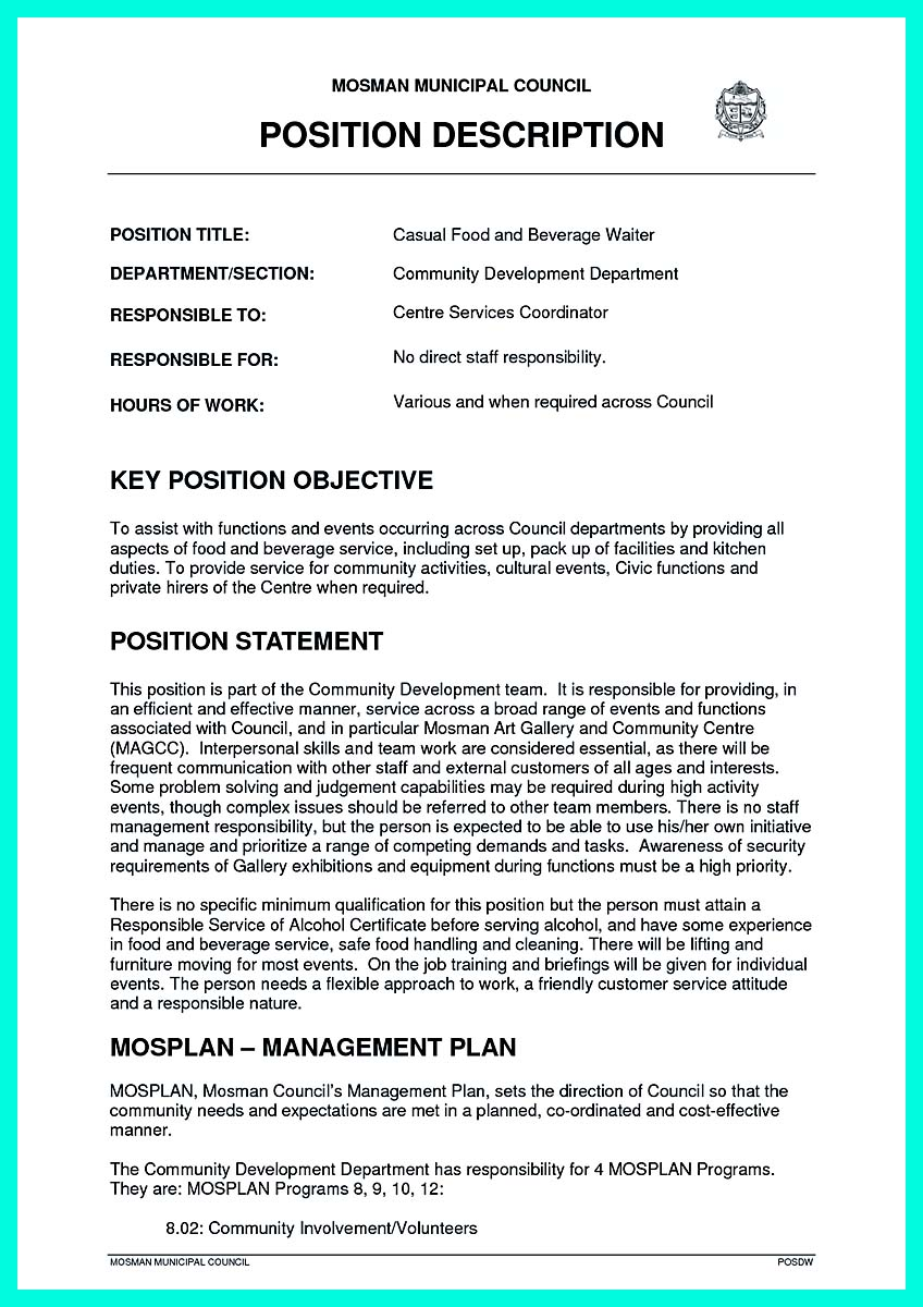 writing a good objective for resume