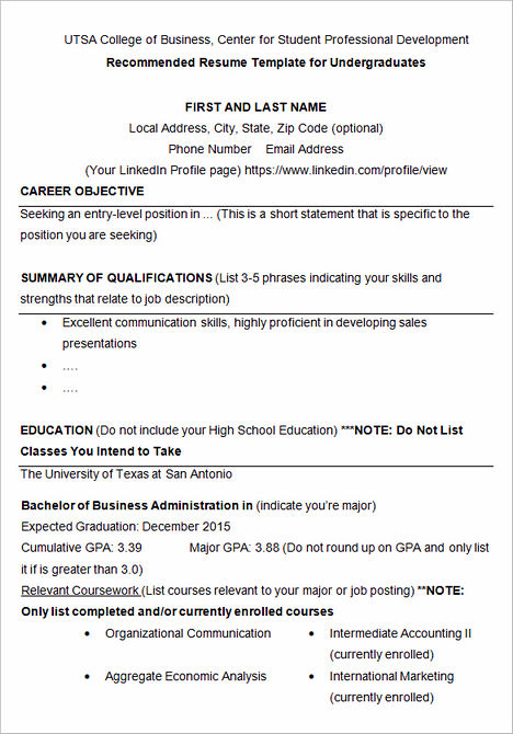 graduate school resume and cv samples