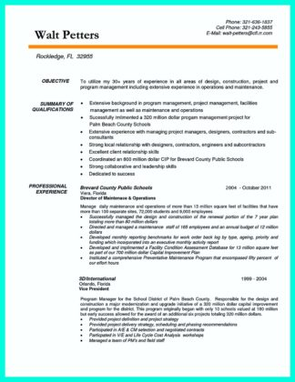 Building Supervisor Resume - nmdnconference - Example Resume And
