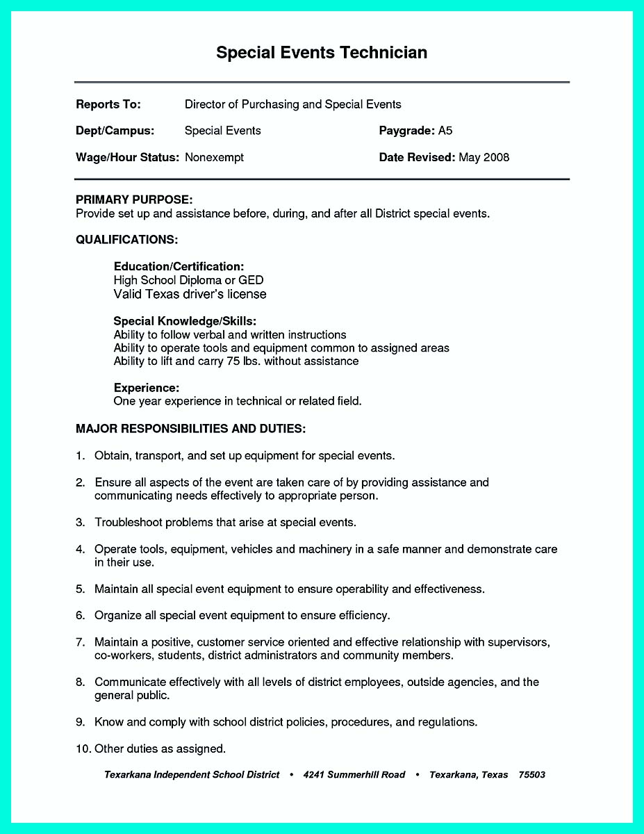 construction resume objective examples