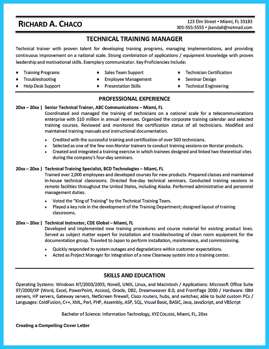 Sample Job Resume For College Student Brilliant Corporate Trainer Resume Samples To Get Job