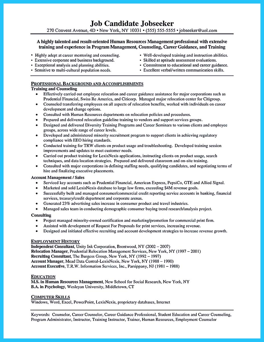 skills for resume for first job