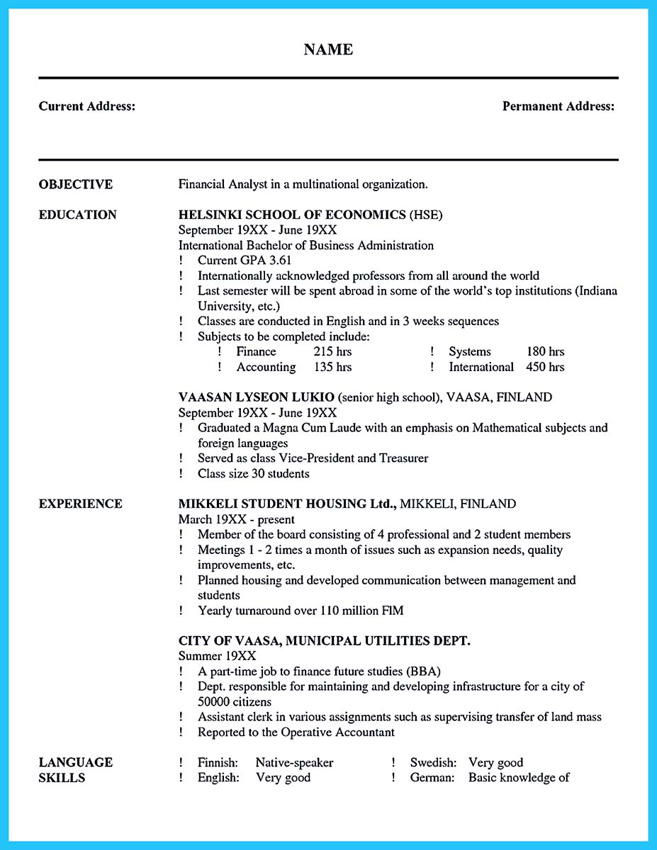 cover letter exaples