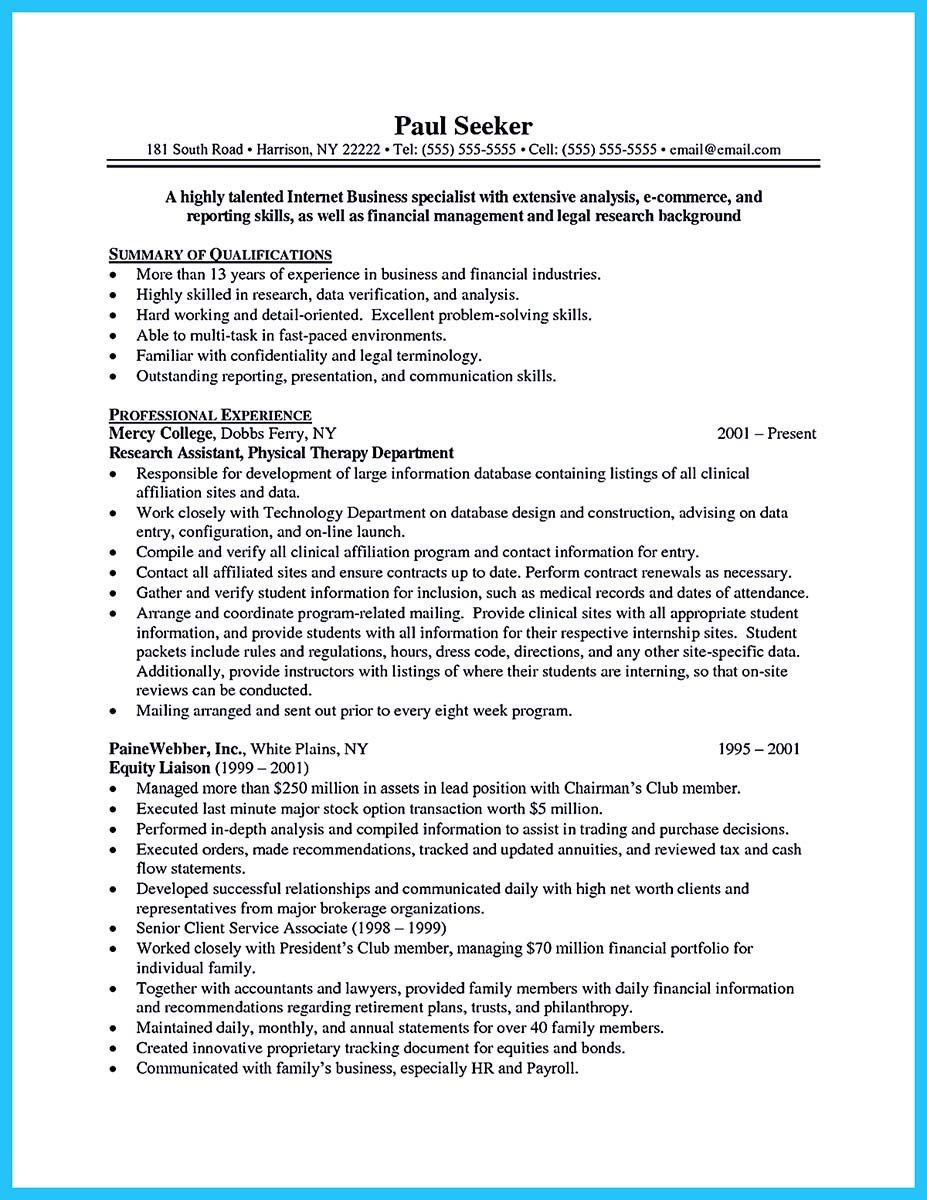 example of a well written cover letter