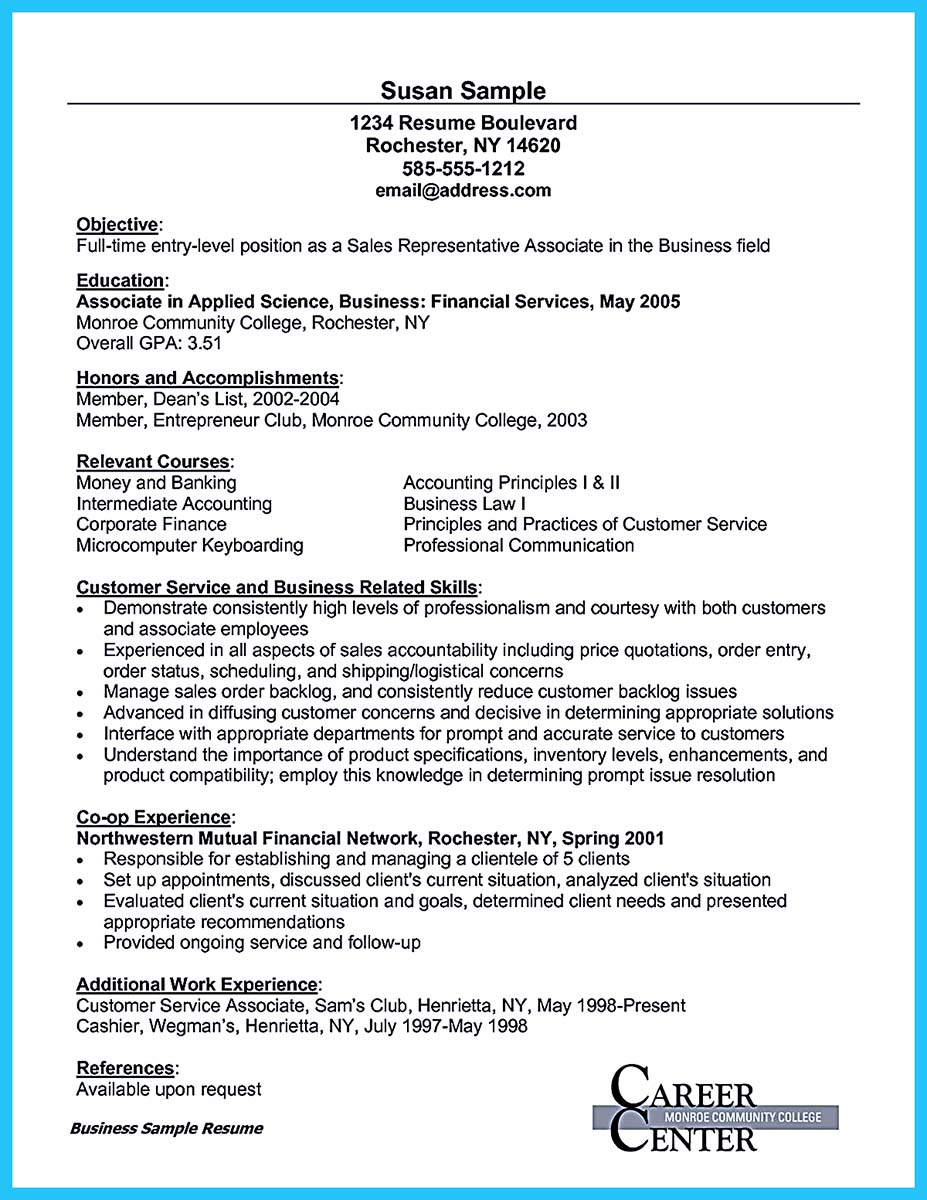 resume email sample
