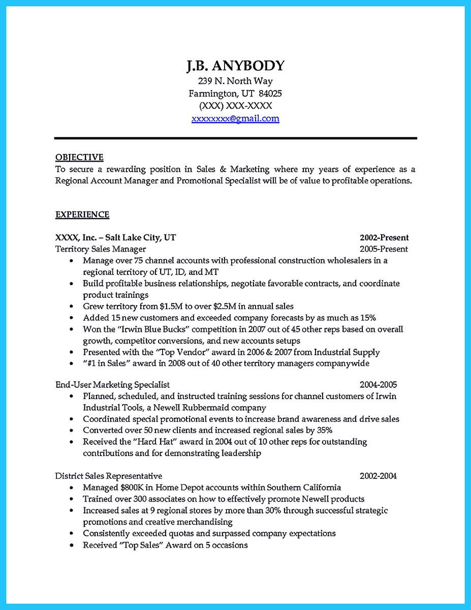 entry level account manager resume sample