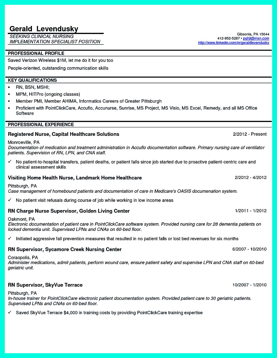 examples of first job resume