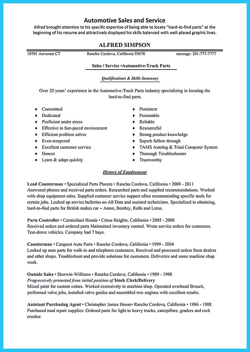 in resume how to mention experience