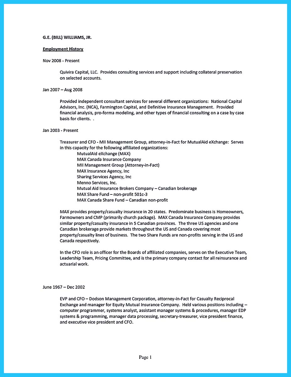 resume cover letter for first job