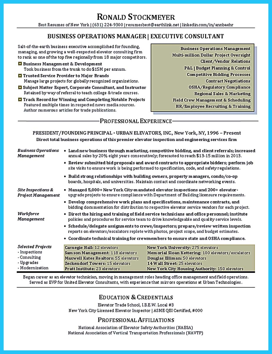 Entry Level Job Resume Template The Most Excellent Business Management Resume Ever