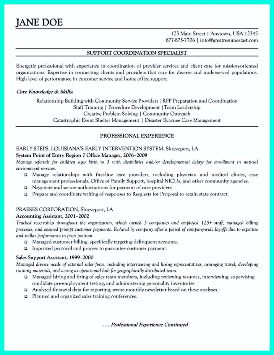 sample case manager resume objective